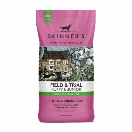 Skinner's puppy food suitable for large breeds VAT FREE 15kg bags
