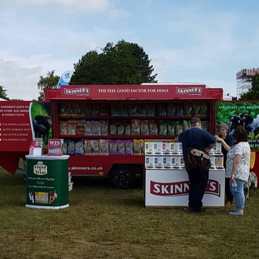 Suffolk Show exhibitor - Skinner's Pet Foods