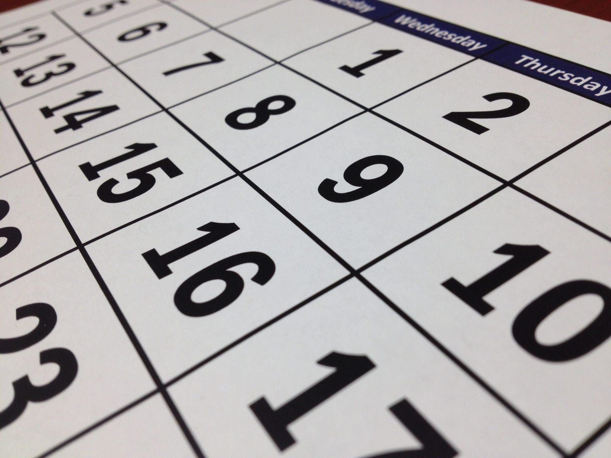 Skinner's calendar competition