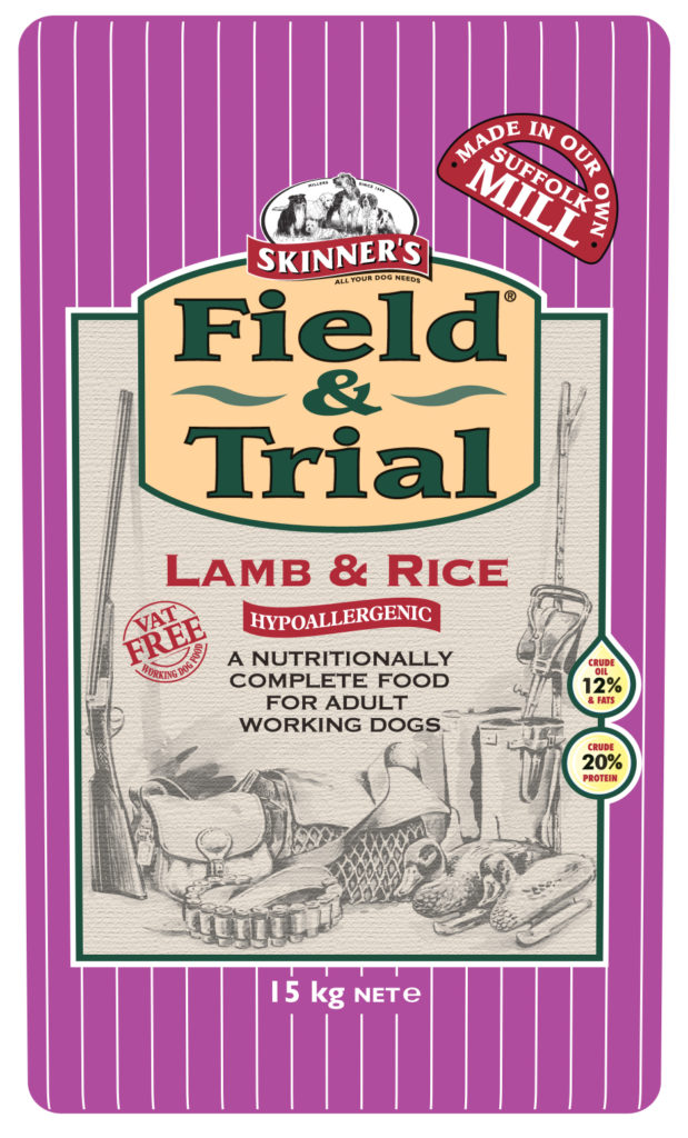 Skinner's single protein Field & Trial Lamb & Rice