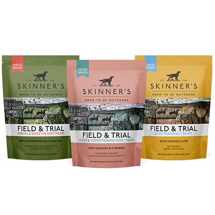 Skinner's new dog treats perfect for training working dogs