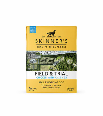 Field & Trial chicken wet food for working dogs