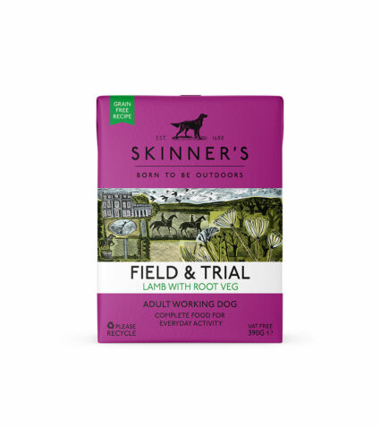 Field & Trial lamb wet food for working dogs