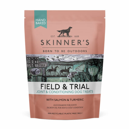 Field & Trial dog treats for joints, skin and coat