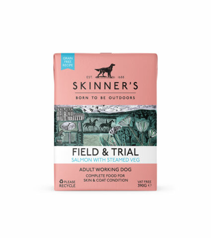 Field & Trial salmon wet food for working dogs