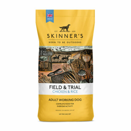 Chicken & Rice sensitive working dog food subscription