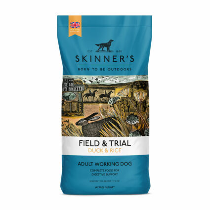 Duck & Rice sensitive working dry dog food