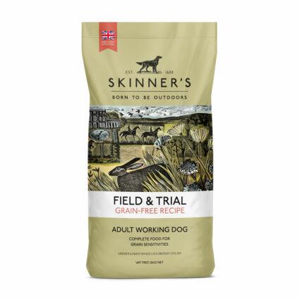 Grain free recipe sensitive working dry dog food
