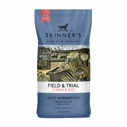 Turkey & Rice sensitive working dog food subscription